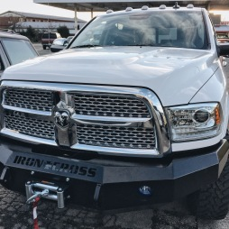 Ram 2500 Winch, Fog Lights, Hood Adj
