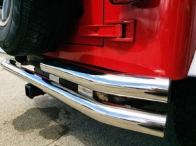 04 WRANGLER: Bumpers, Inserts, Shocks, Straps